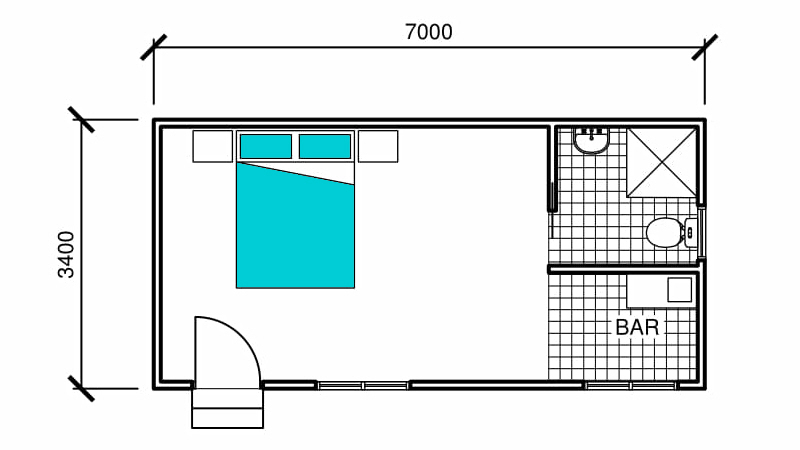 Venice Teenage Retreat Floor Plan
